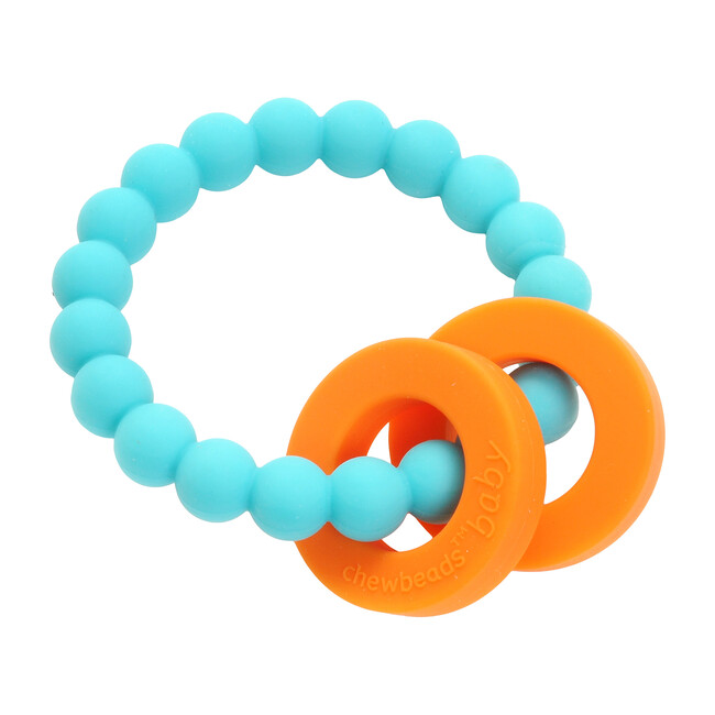 Mulberry Teether, Turquoise