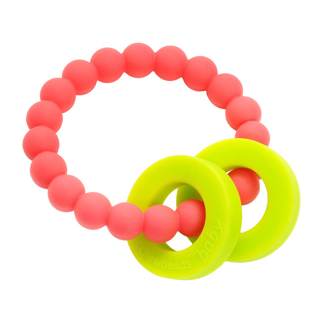 Mulberry Teether, Punchy Pink - Teethers - 0