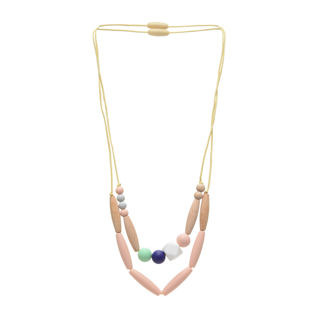 Metropolitan Necklace, Blush