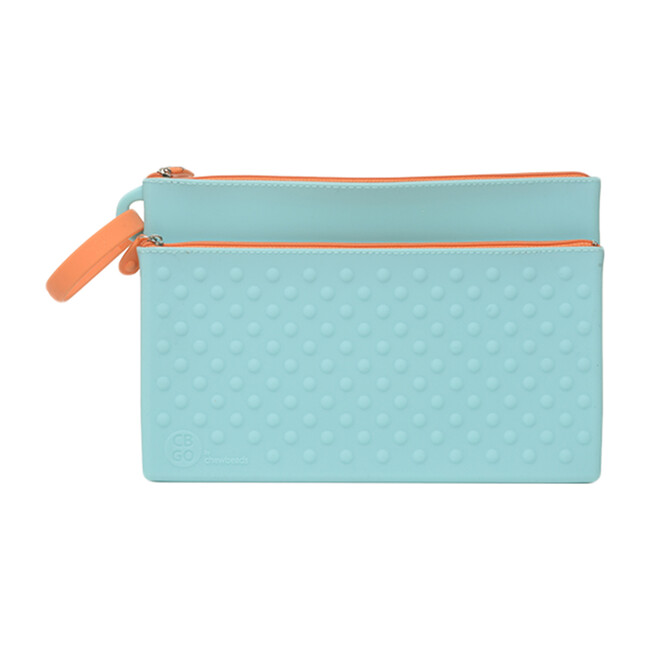 Silicone Wipes Case, Turquoise