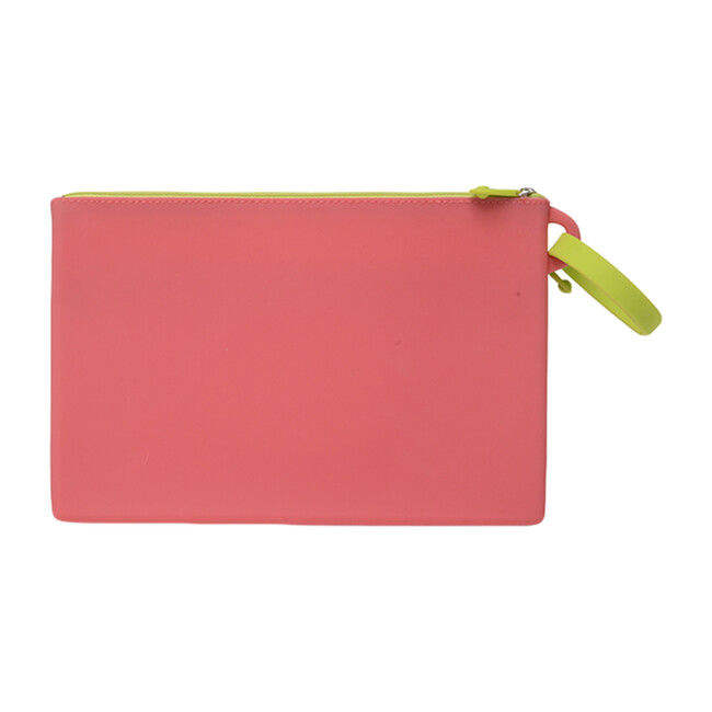 Silicone Wipes Case, Bright Pink