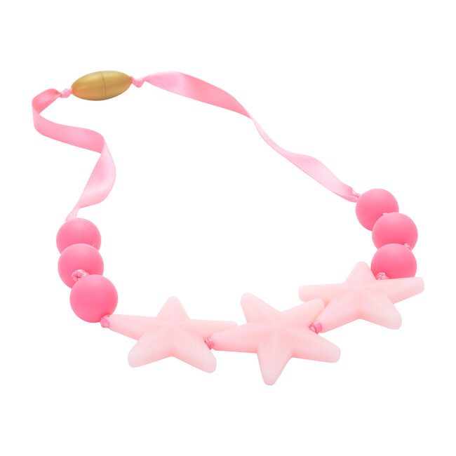 Broadway Star Necklace, Bubble Gum - Teethers - 1