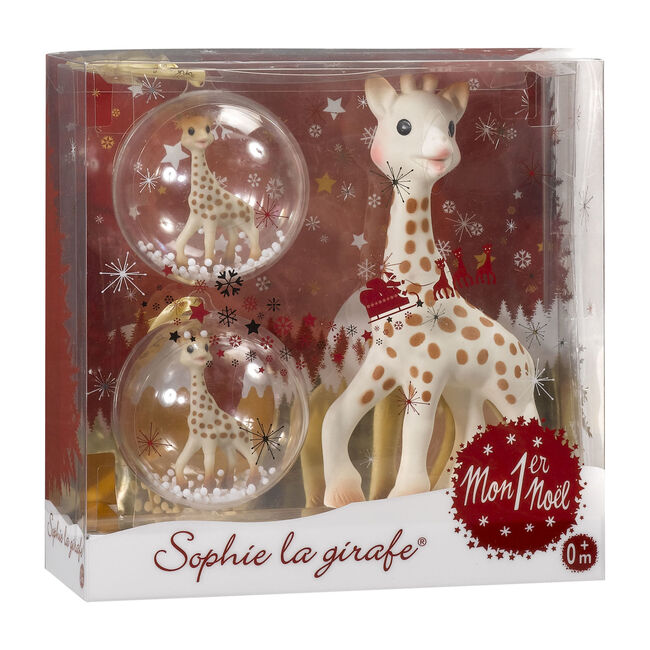 My Christmas With Sophie La Girafe Gift Set - Teethers - 1 - zoom