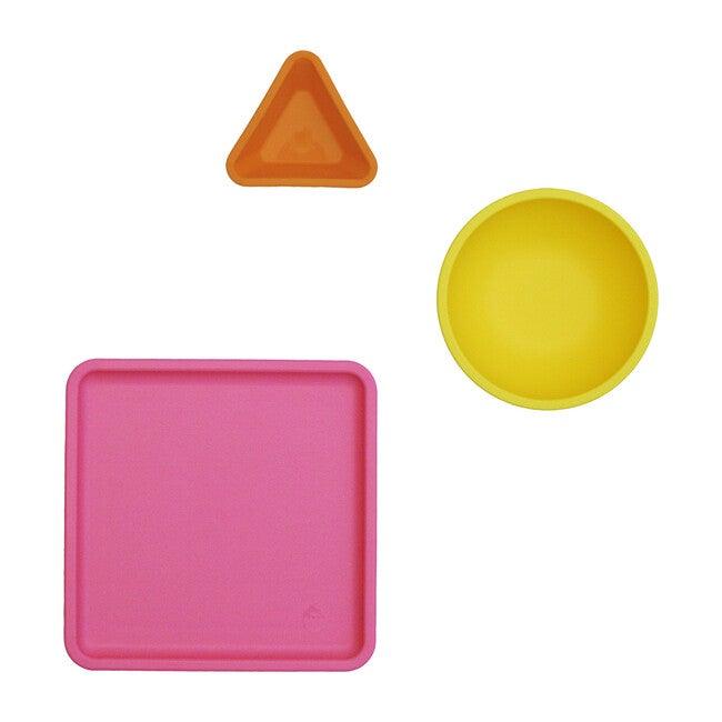 Mealtime Set, Pink Multi