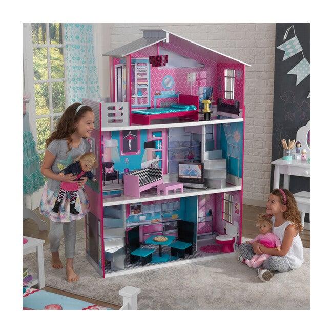 Breanna Wooden Dollhouse for 18-Inch Dolls