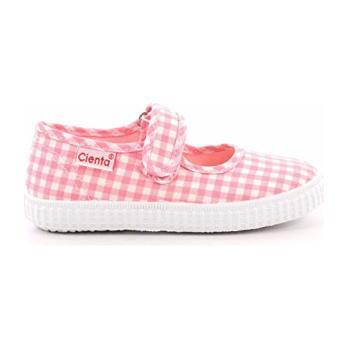 Canvas Mary Jane, Pink Gingham