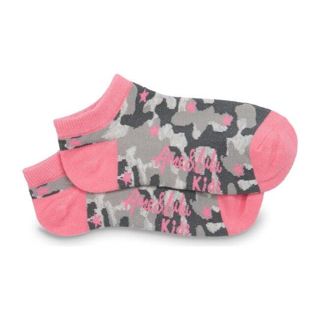 Sporty Feet Socks, Grey Camo
