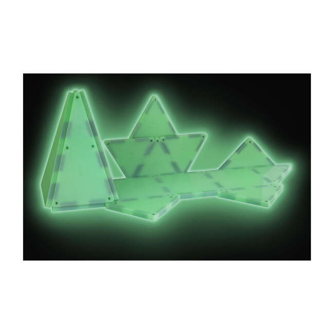 Magna-Tiles Glow in the Dark 16-Piece Set