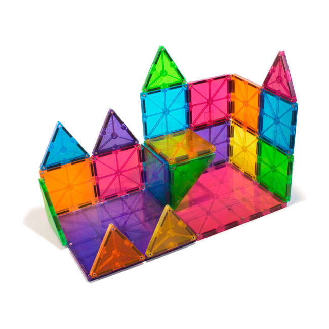 Magna-Tiles Clear Colors 32-Piece Set