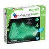 Magna-Tiles Glow in the Dark 16-Piece Set - STEM Toys - 4