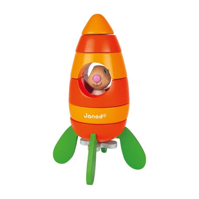 Magnetic Carrot Rocket