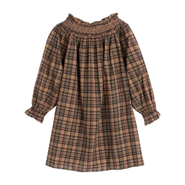 Ameline Dress, Blush Promenade Plaid
