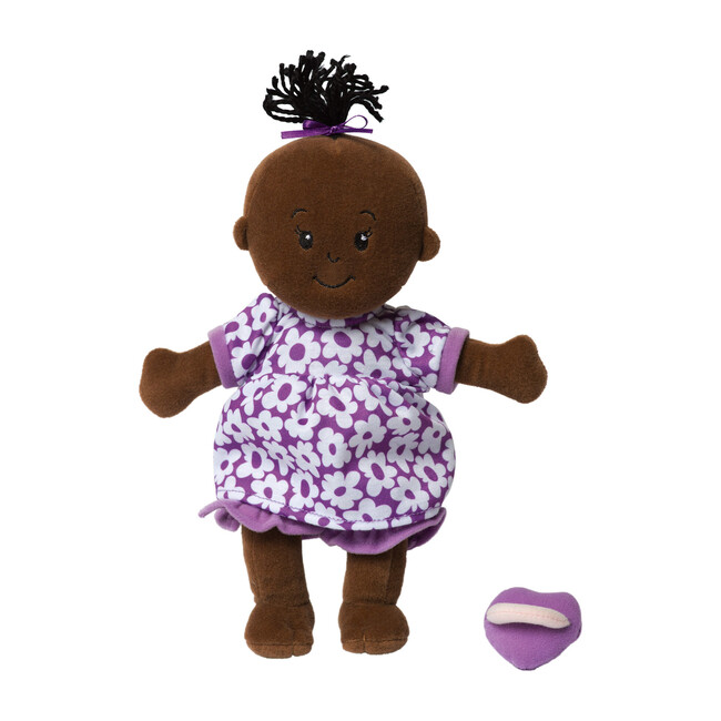 Wee Baby Stella Doll, Brown with Black Hair