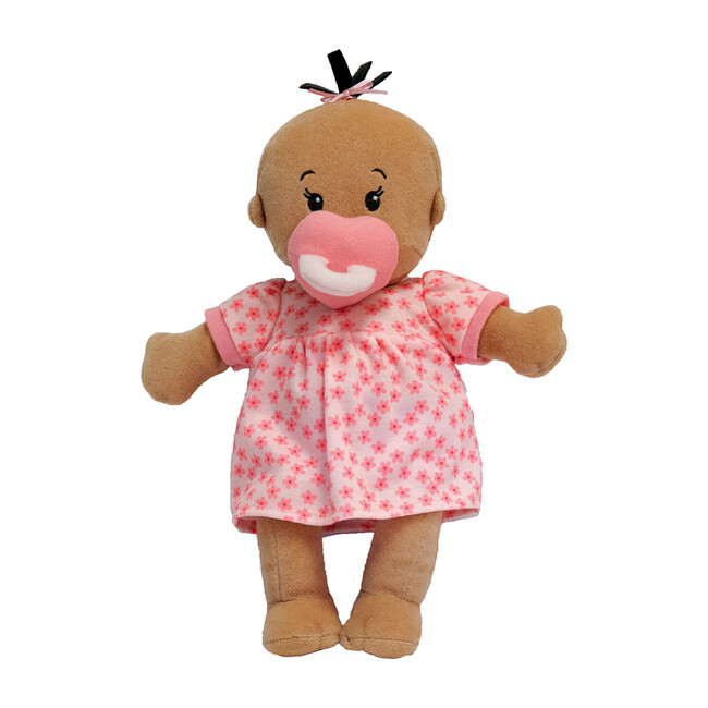 Wee Baby Stella Doll, Beige with Brown Hair
