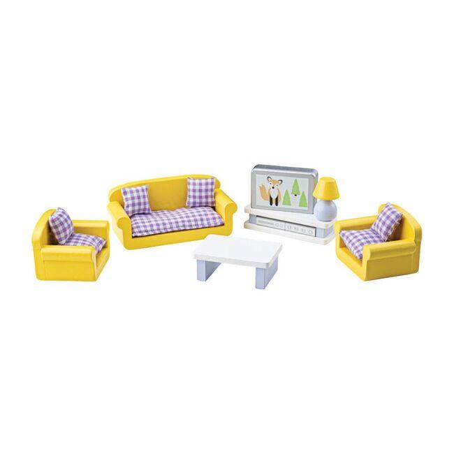 Doll Furniture Set, Living Room
