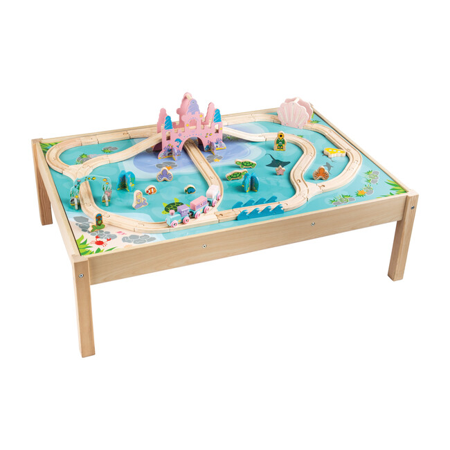 Mermaid Train Table