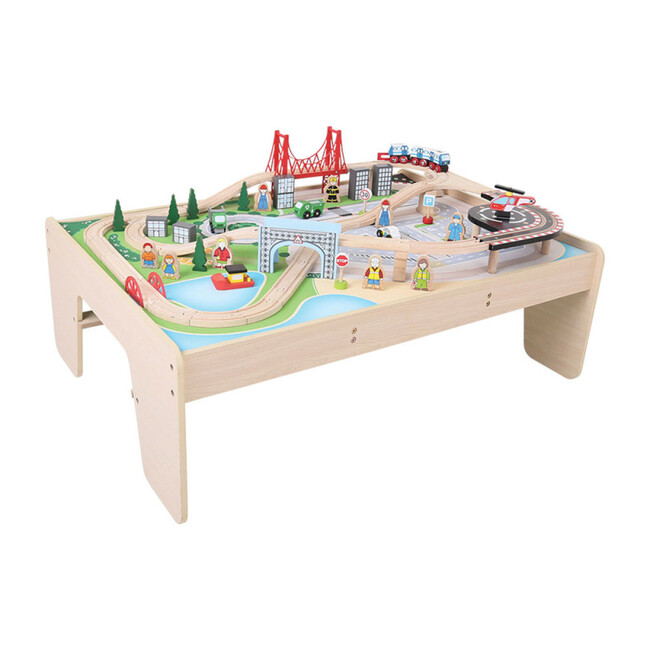 City Train Set and Table - Transportation - 1