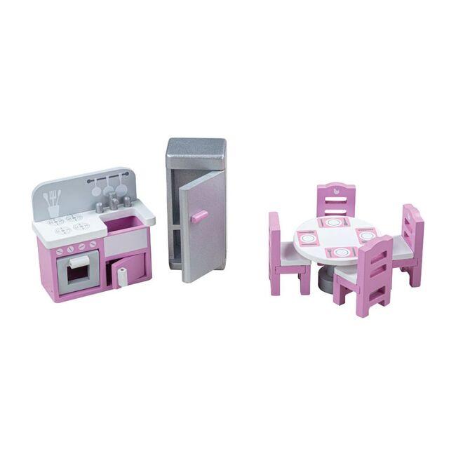 Doll Furniture Set, Kitchen