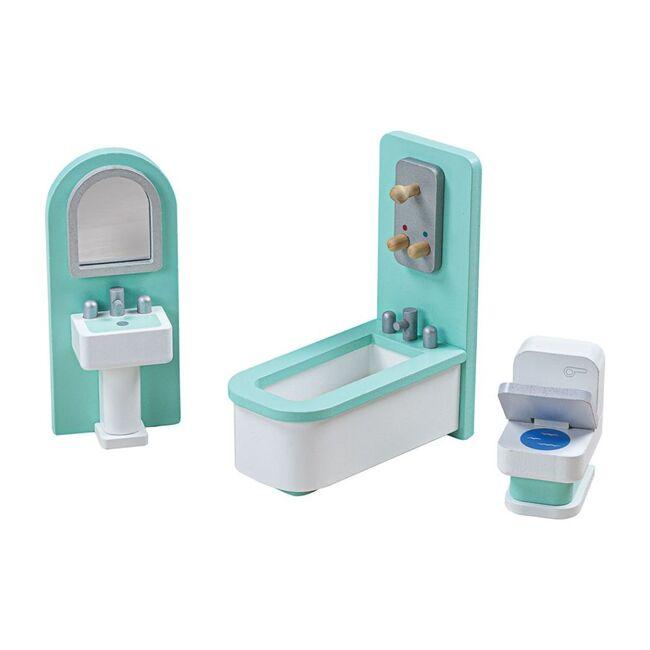 Doll Furniture Set, Bathroom