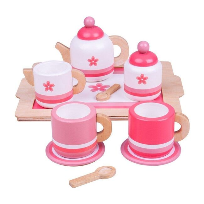 Tea Tray, Pink