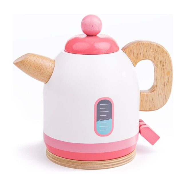Wooden Kettle, Pink