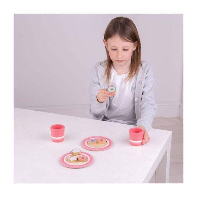 Milk & Cookies Set, Pink