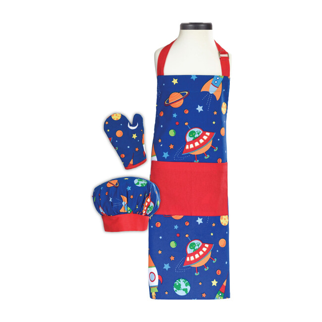 Out of this World Deluxe Child Apron Boxed Set - Party Accessories - 1