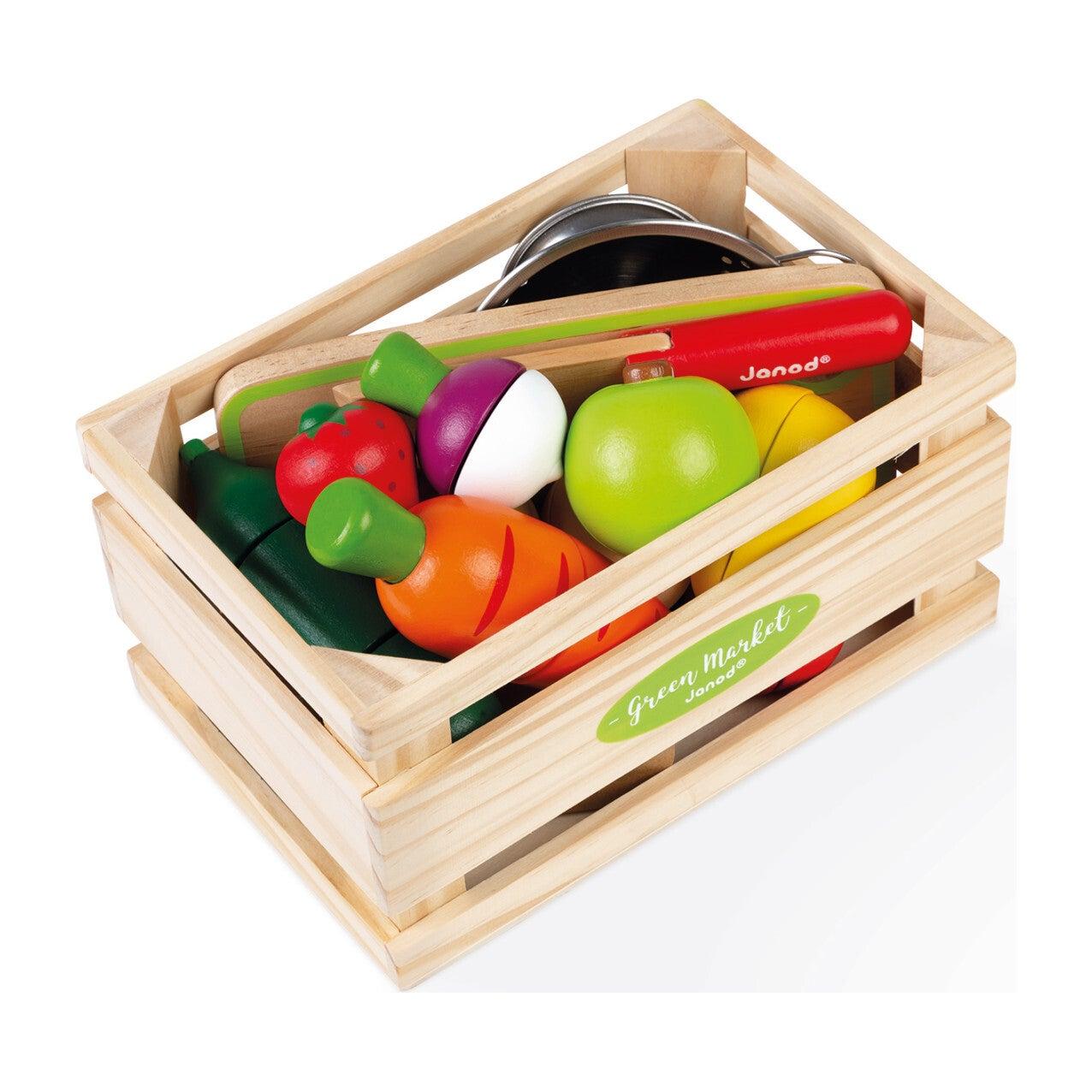 Green Market Fruits & Vegetables Maxi Set