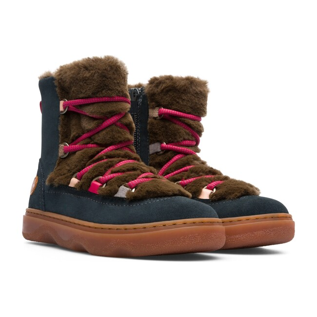 Kiddo Fur Boot, Brown