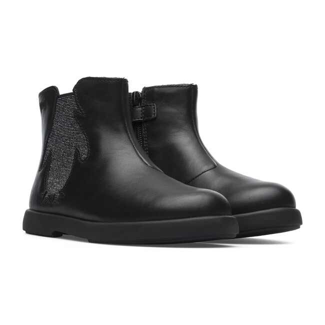 Duet Penguin Chelsea Boot, Black