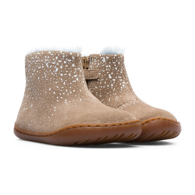Toddler Peu Cami Suede Boot, Grey