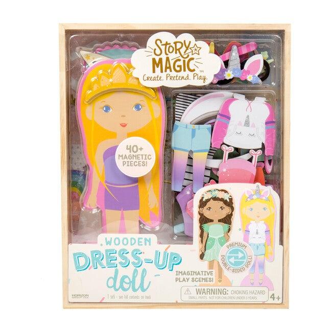 Wooden Dress Up Dolls