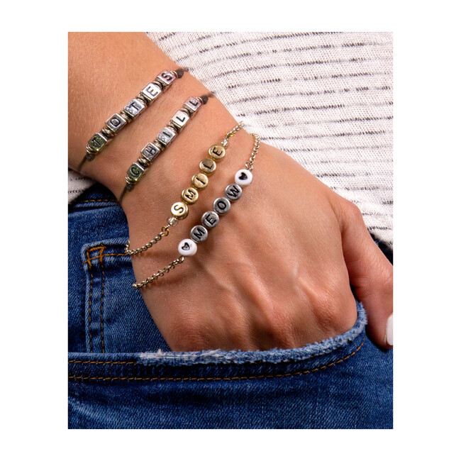 DIY Alphabet Jewelry