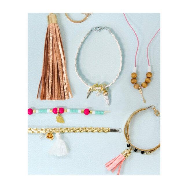 DIY Leather, Charms & Tassel Jewelry