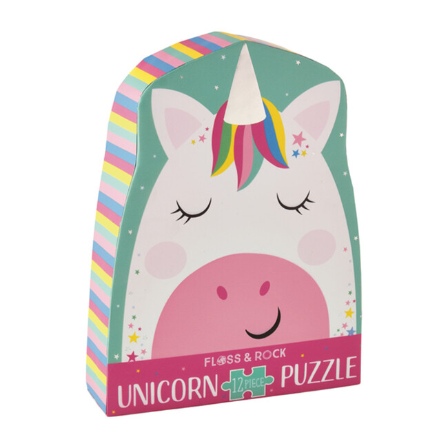 Rainbow Unicorn 12-Piece Puzzle