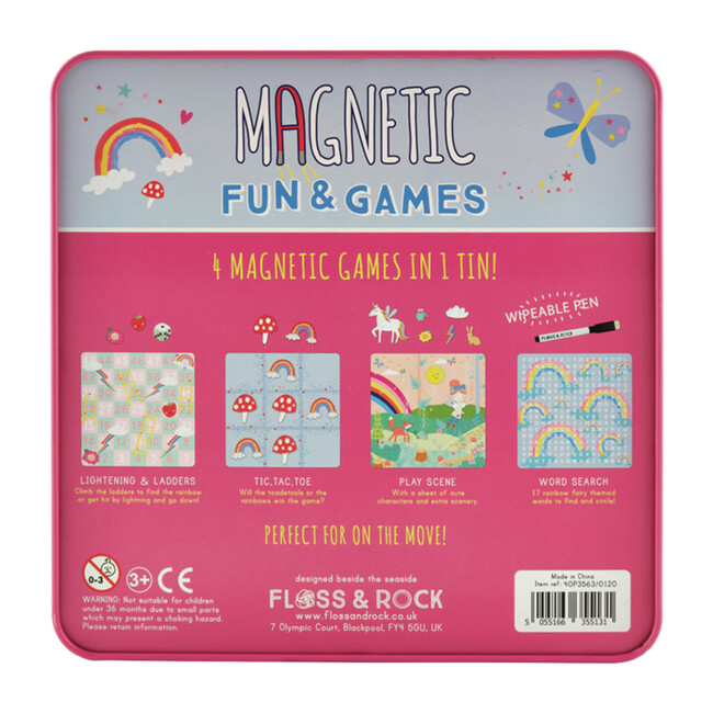 Rainbow Fairy Magnetic Fun and Games