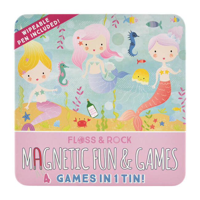 Mermaid Magnetic Fun and Games