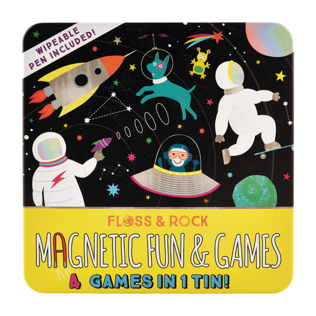 Space Magnetic Fun and Games
