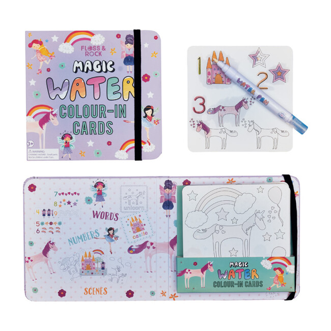 Fairy Unicorn Water Pad and Pen