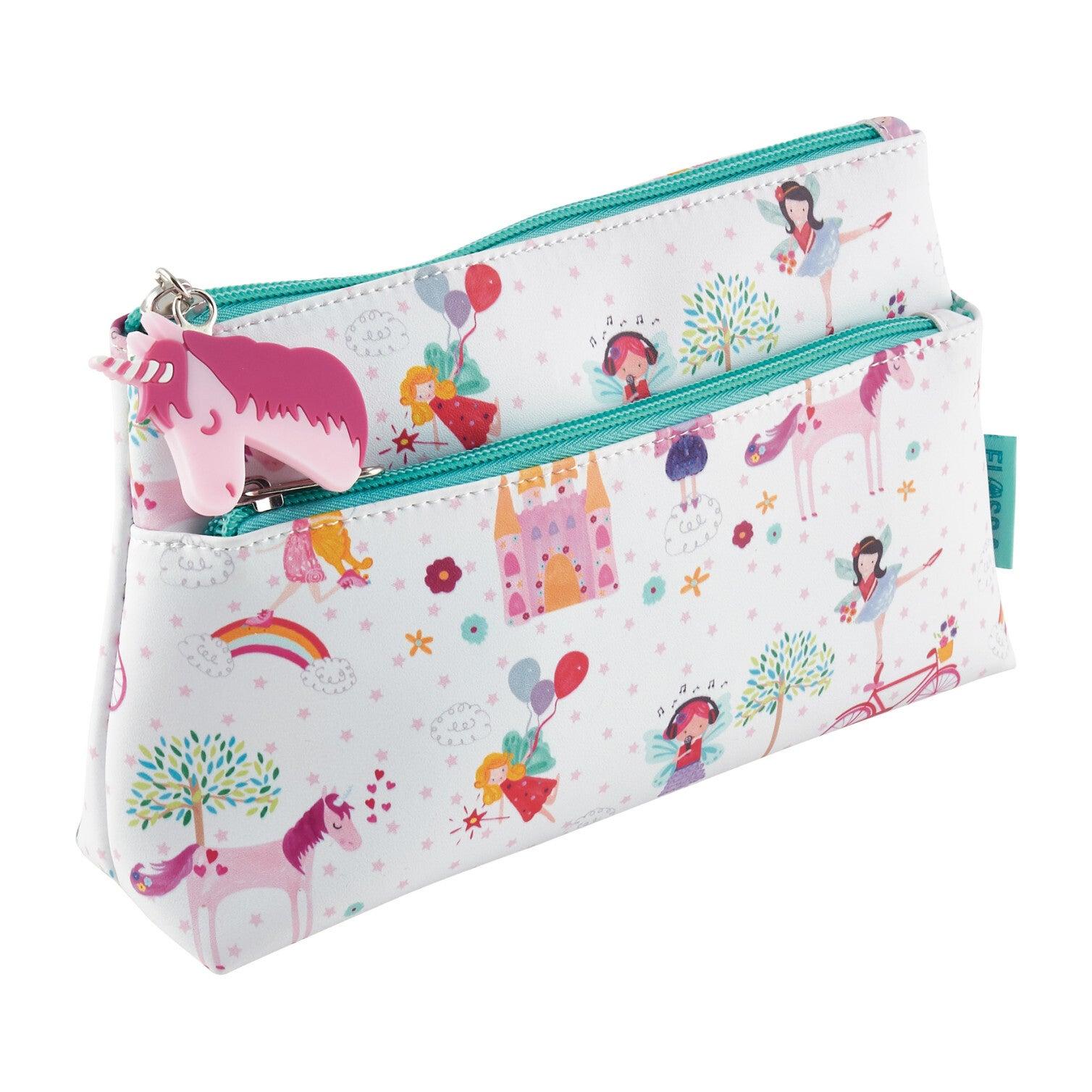 Fairy Unicorn Jumbo Pencil Case