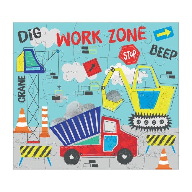 Construction 20-Piece Puzzle