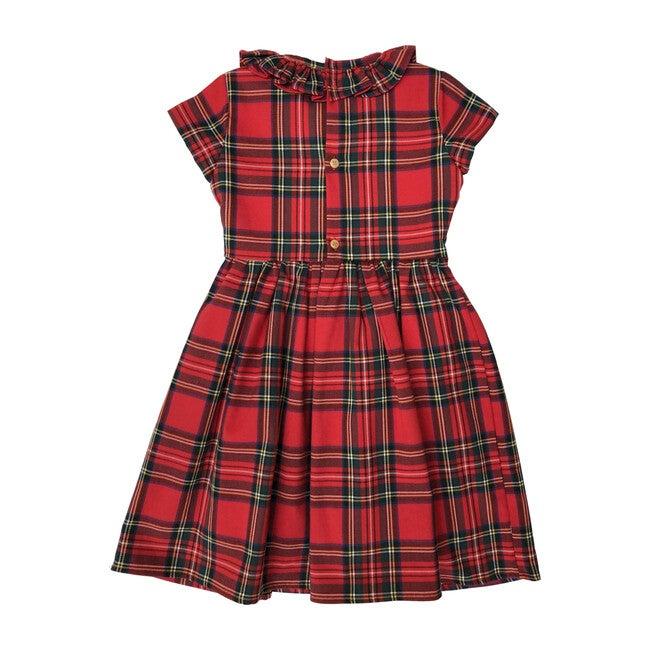 Ilinizas Dress, Red Tartan