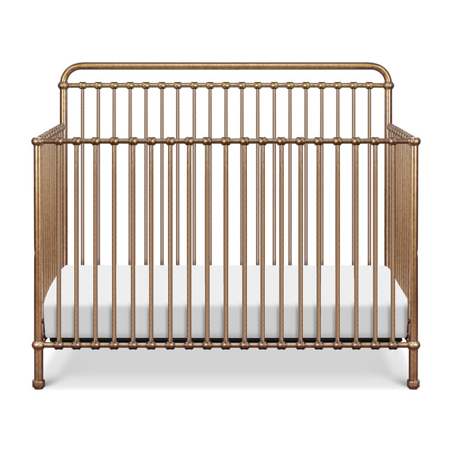 Winston 4-in-1 Convertible Crib, Vintage Gold