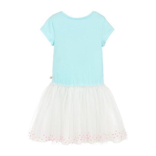 Tulle Skirt Dress, Blue