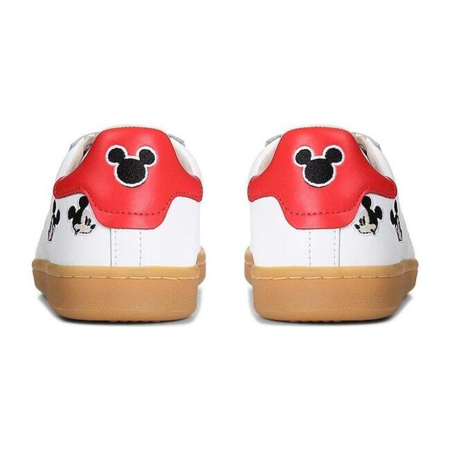 Tennis Mickey Lace Shoes, White