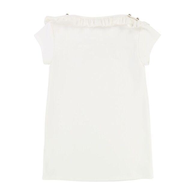 Sailor Style Dress, White
