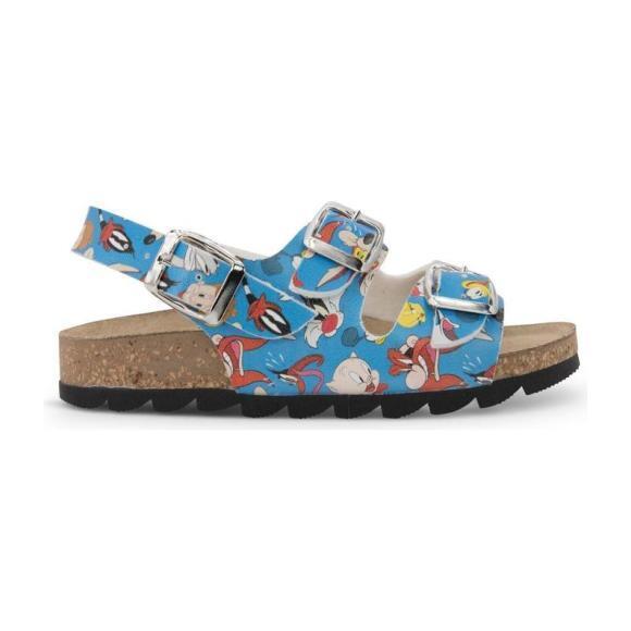 Looney Tunes Sandals, Light Blue