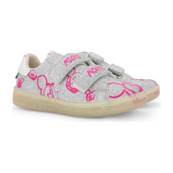 Glitter Disney Gallery Shoes, Silver