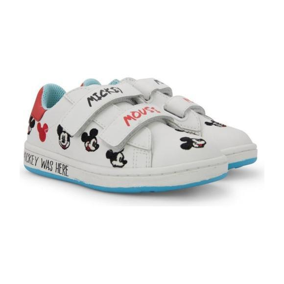 Gallery Mickey Shoes, White