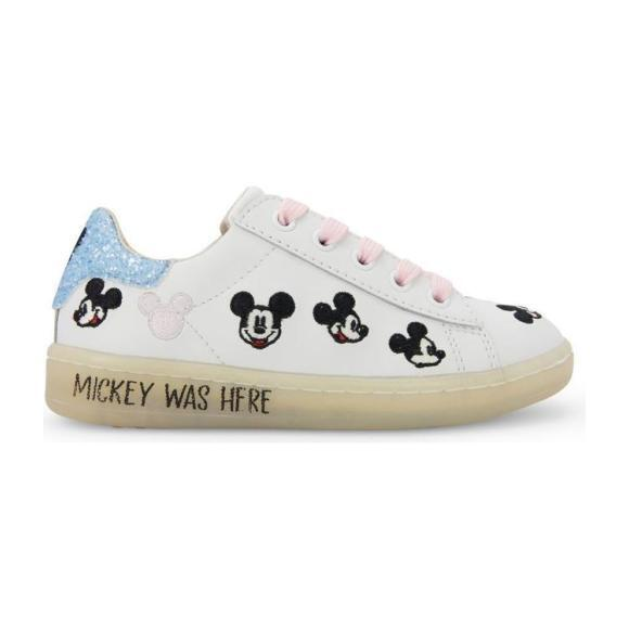 Gallery Mickey Lace Shoe, White